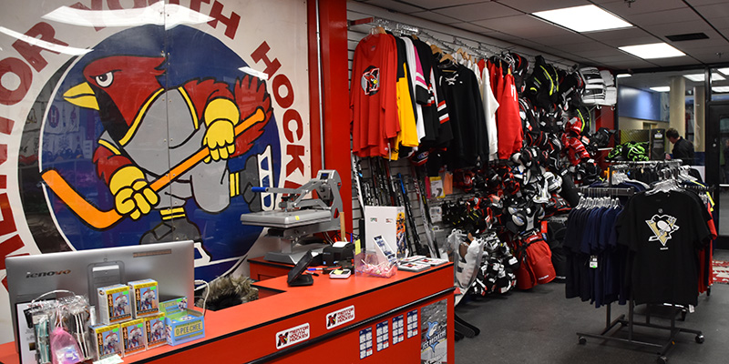 Mentor Ice Arena Pro Shop